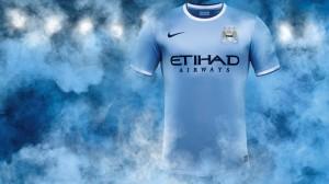 Manchester City kit 13/14