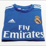 Выездная форма Мадридского Реала 2013/14.