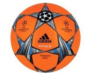 adidas 13-14 Champions League Ball-newOrange