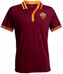AS Roma 13 14 Home Kit (4)