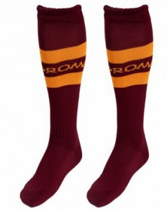 AS Roma 13 14 Home Kit (6)