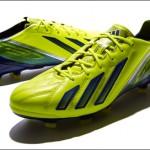 Новая яркая расцветка бутс adidas F50