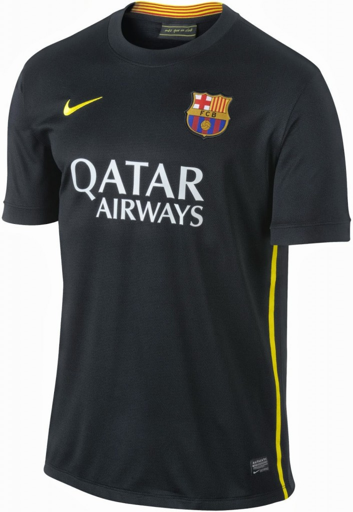 FC Barcelona 13 14 Third Kit