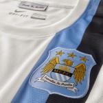 Третий комплект формы Manchester City 13-14