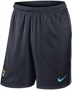 Manchester City 13 14 Third Kit Shorts 1
