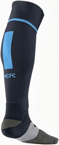 Manchester City 13 14 Third Kit Socks Back