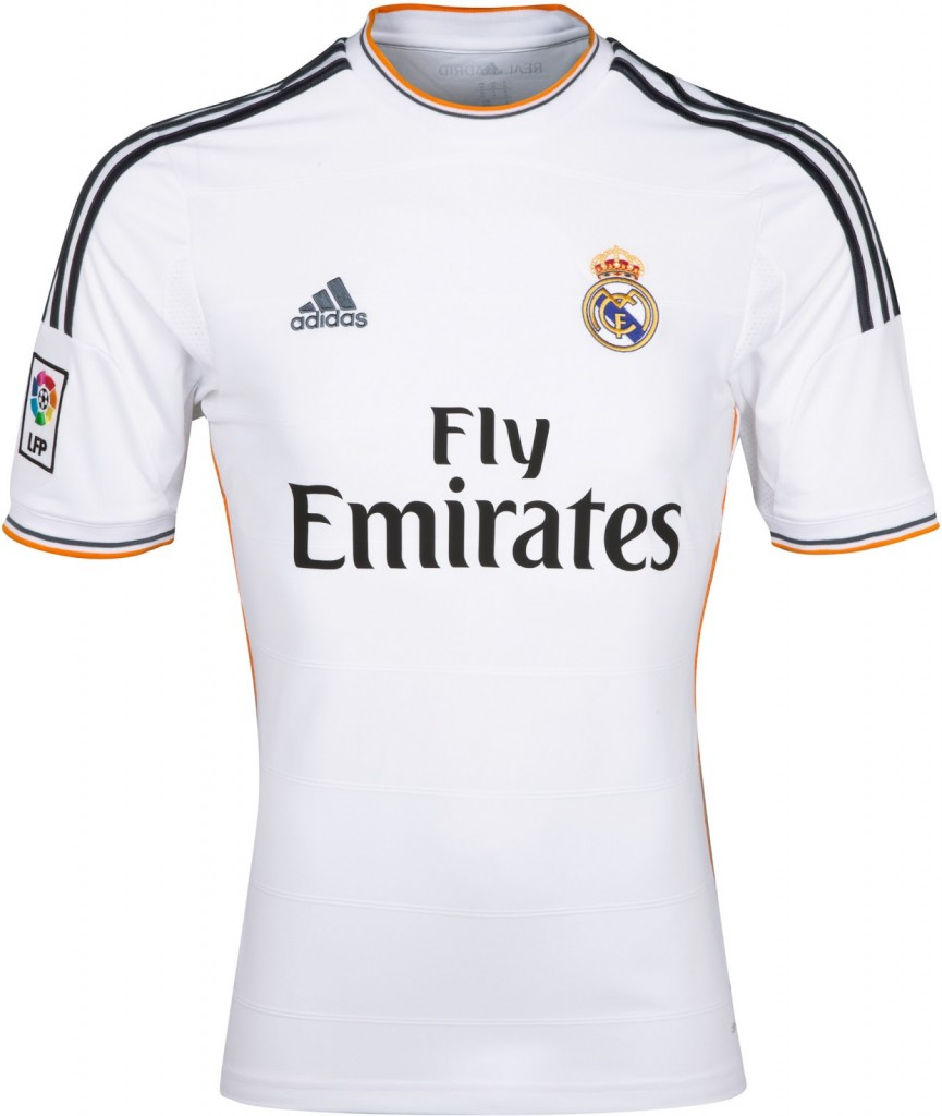 Real Madrid 13 14 Home Kit 1