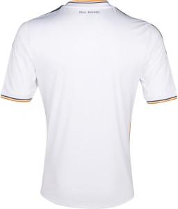 Real Madrid 13 14 Home Kit Back