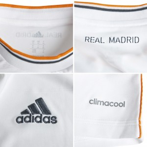 Real Madrid 13 14 Home Kit Detailed all