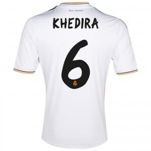 Real Madrid 13 14 Home Kit Khedira