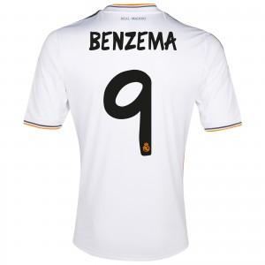 Real Madrid 13 14 Home Kit Ronaldo Benzema