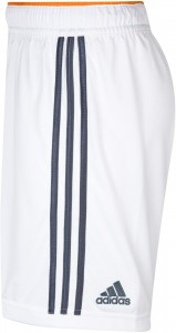Real Madrid 13 14 Home Kit Shorts side 1