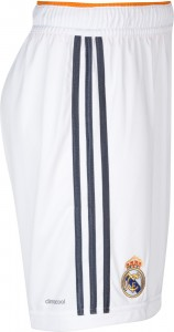Real Madrid 13 14 Home Kit Shorts side