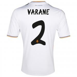 Real Madrid 13 14 Home Kit Varane
