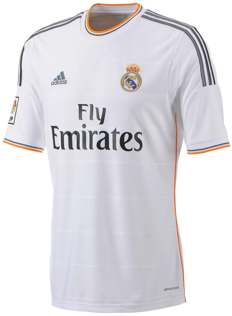 Real Madrid 13 14 Home Kit