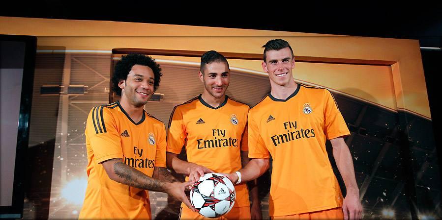 Real Madrid 13 14 Third Kit
