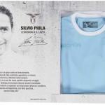 Домашняя форма Лацио посвященная столетию Сильвио Пиола