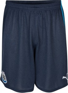 Newcastle 13 14 Away Kit Shorts