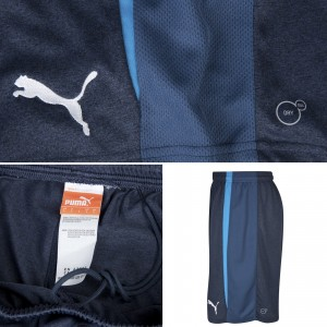Newcastle 13 14 Away Kit Shorts Detailed