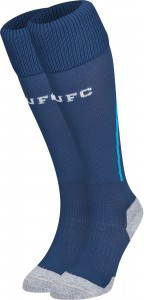 Newcastle 13 14 Away Kit Socks 2 (1)