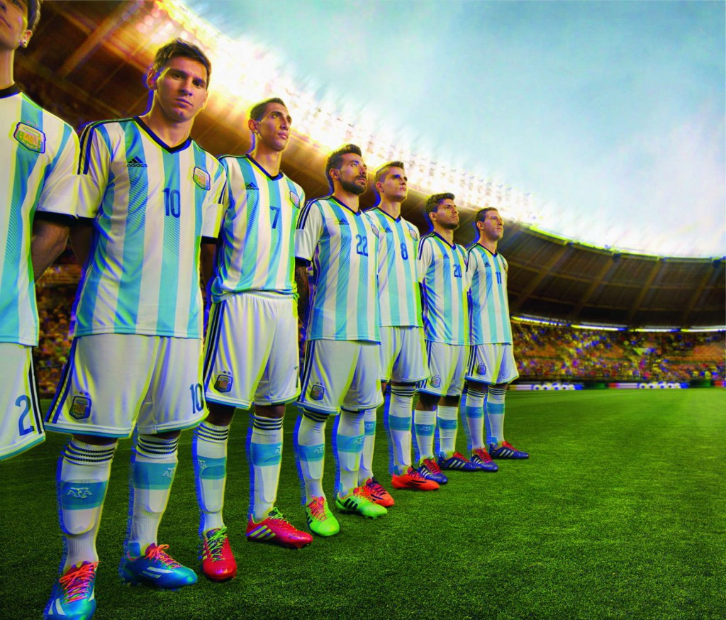 Argentina 2014 World Cup Home Kit (1)