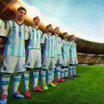 Домашняя фома сборной Аргентины на ЧМ 2014