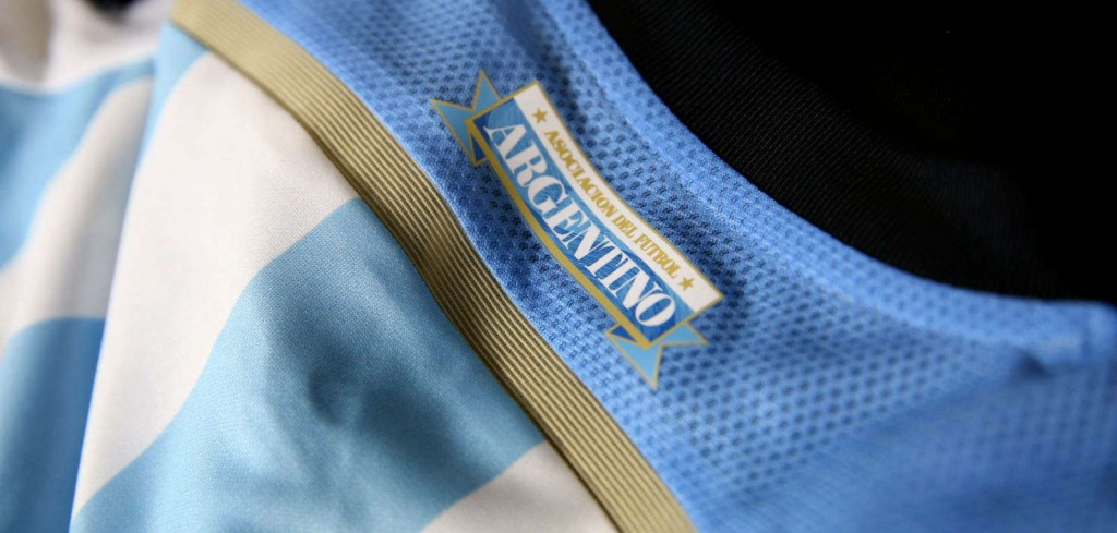 Argentina 2014 World Cup Home Kit (5)