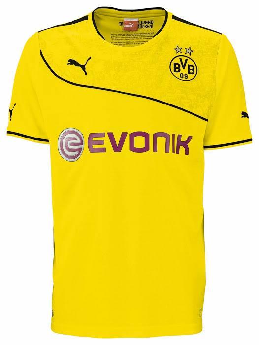 Borussia Dortmund 2013-14 Wintertrikot (1)