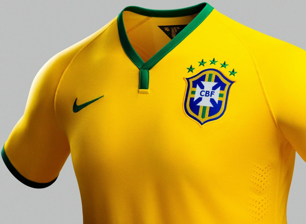 Brazil 2014 World Cup Home Kit (2)