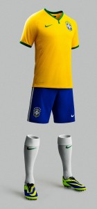 Brazil 2014 World Cup Home Kit (3)