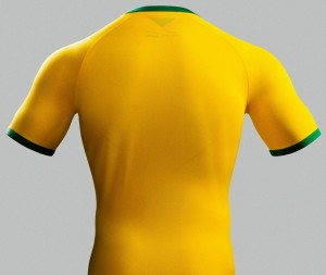 Brazil 2014 World Cup Home Kit (5)