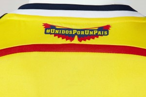 Colombia 2014 World Cup Home Kit (3)