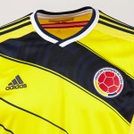 Домашняя форма сборной Колумбии на ЧМ 2014 от Adidas