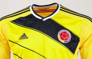 Colombia 2014 World Cup Home Kit (4)