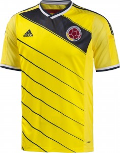 Colombia 2014 World Cup Home Kit (5)