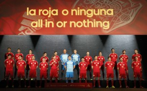 Spain 2014 World Cup Home Kit (1) 1