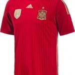 Домашний комплект формы сборной Испании на ЧМ-2014