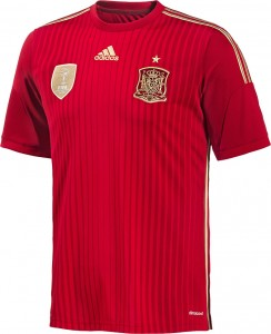 Spain 2014 World Cup Home Kit (6)