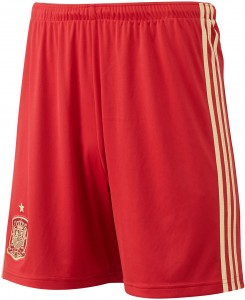 Spain 2014 World Cup Home Short 1