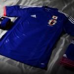 Домашняя форма сборной Японии по футболу на чемпионат мира 2014