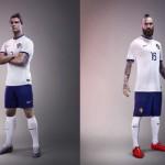 Выездная форма сборной Португалии.