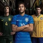 Выездная форма сборной Бразилии.