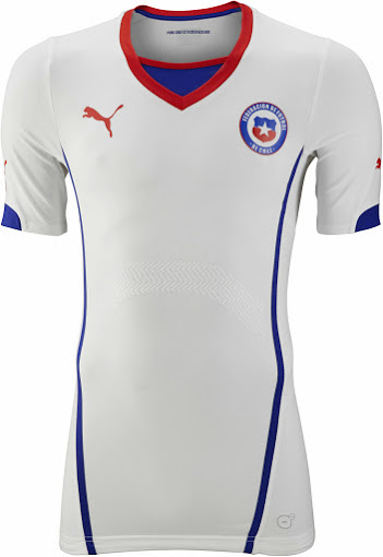 Chile 2014 World Cup Away Kit (1)