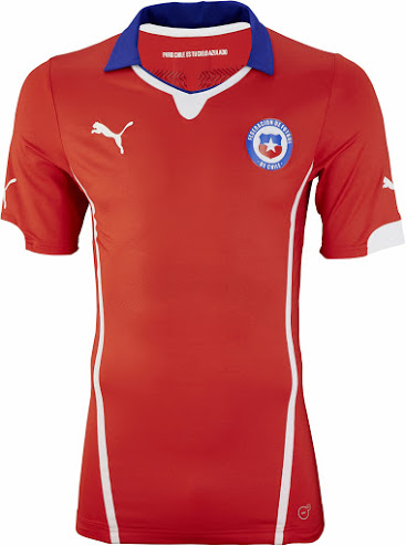 Chile 2014 World Cup Home Kit (1)