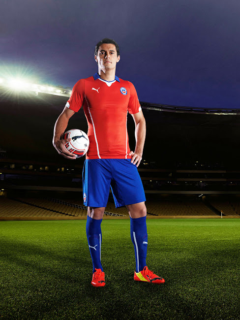 Chile 2014 World Cup Kit