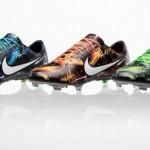 «Тропическая» расцветка Nike Mercurial.