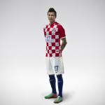Домашний комплект сборной Хорватии 2014