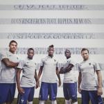 Выездная форма сборной Франции 2014