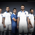 Форма сборной Греции 2014 от Nike
