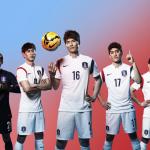 Гостевая форма Южной Кореи для Чемпионата Мира 2014